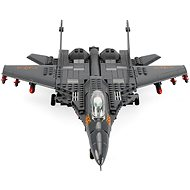 Military fighter kit, 281 parts - Building Kit