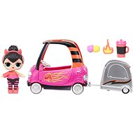 L.O.L. Surprise! Furniture with a doll - Cool car service & Spice