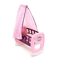 Smoby Baby Nurse Cradle with canopy for dolls - Doll Furniture