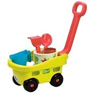 Ecoiffier Garden Wagon with Bucket and Accessories - Gardening tools set
