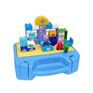 PlayBig BLOXX Peppa Pig Set with Case - Building Kit