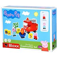 PlayBig BLOXX Peppa Pig Fire truck with accessories - Building Kit