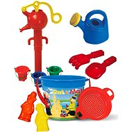 P&M Sand Set with IML Bucket 3.4l with Functional Water Pump