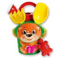 Androni Sand Teddy Bear Set with Teapot - Small