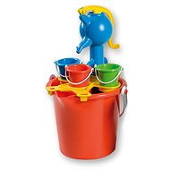 Androni Sand set with pump - large, red