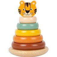 Small Foot Tiger Safari Deployment Tower - Wooden Toy