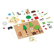Bigjigs Toys Creative Hammering Game Life in the Woods - Creative Toy
