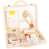 Small Foot Children's Doctor's Case for Small Dentists 2-in-1 - Thematic Toy Set