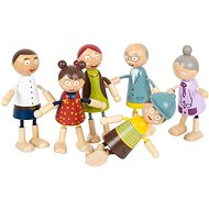 Small Foot Wooden Figures Family - Figures