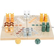 Small Foot Man, Don't be Angry for 6 Safari Players - Board Game