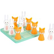 Small Foot Five-in-a-row in pastel colours - Board Game