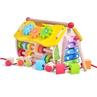 Wooden Educational House - Clock - Wooden Toy
