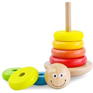 Wooden Colour Pyramid - Wooden Toy