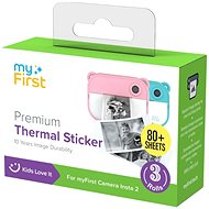 Thermo Paper Self-adhesive Discs myFirst Thermal Sticker - Photo Paper