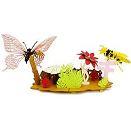Bee and Butterfly PT1910-74 - Paper Model