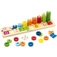 Imaginarium Wooden Game with Numbers