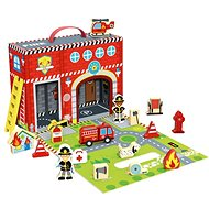 Imaginarium Firehouse Full of Stories - Thematic Toy Set