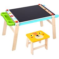 Imaginarium Painting Table, Chalk and Paper - Board