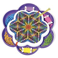 Quercetti Play Art Mandala - drawing with threads and pins