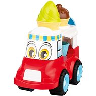 Androni Cheerful Ice Cream Truck - 24cm, Red