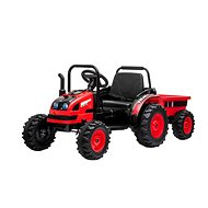 POWER Tractor with Siding, Red - Children's Electric Car