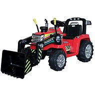 MASTER Tractor with Scoop, Red, Rear-wheel Drive