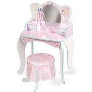 Decuevas 55541 Wooden Dressing Table with Mirror, Wooden Chair and Ocean Fantasy Accessories 2021 - Children's Furniture