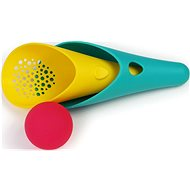 QUUT Cuppi Green + Pink Ball - Scoop with Strainer and Ball - Sand Tool Kit