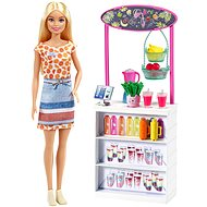 Barbie Smoothie Stand with Doll - Doll