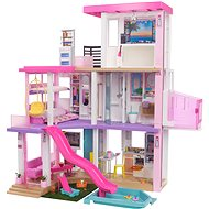 Barbie DreamHouse Dollhouse with Pool, Slide, Lift, Lights and Sounds - Doll