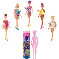 Barbie Colour Reveal Doll Sand & Sun Series, Marble Pink - Doll