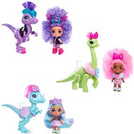 Cave Club Dino Doll with Animal Asst
