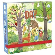 Day in the Woods Pocket Puzzle - 100 pieces - Puzzle