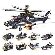 Qman Storm Armed Helicopter 1801 8-in-1 Set - Building Kit