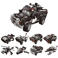 Qman Trans Collector 1808 Complete 8-in-1 Supercoloured Vehicle - Building Kit