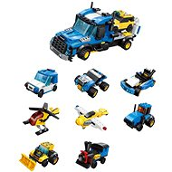 Qman City Tow Truck 1809 Complete 8-in-1 - Building Kit
