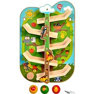 Lucy & Leo 237 Tree with Animals - Wooden Wall Slide - Baby Toy