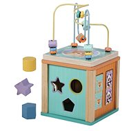 Sun baby wooden educational cube - Motor Skill Toy