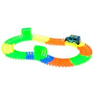 Traffic light in the dark 128pcs with car - Track