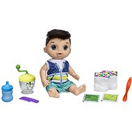 Baby Alive A dark-haired Baby Boy Doll with a Mixer - Doll Accessory
