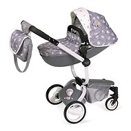 DeCuevas 81435 Modern Sports Pram for Dolls 3in1 with Bag SKY 2020 - Doll Stroller