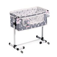 DeCuevas 51235 Newborn cot for dolls with a common sleeping function SKY 2020 - Doll Furniture