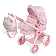 DeCuevas 80534 Folding stroller for 3 in 1 dolls with Magic Maria 2020 backpack - Doll Stroller