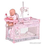 DeCuevas 53134 My First Doll Crib With Magic Maria 2020 Accessories - Doll Furniture