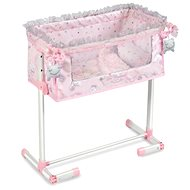 DeCuevas 51234 Newborn cot for dolls with the function of sleeping together Magic Maria 2020 - Doll Furniture
