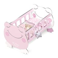DeCuevas 55134 Wooden cot for dolls with Magic Maria 2020 accessories - Doll Accessory