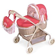 DeCuevas 86033 My First Doll Pram with Bag and Martin 2020 Accessories - Doll Stroller