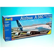 """Plastic ModelKit plane 04218 - Airbus A380 """"New Livery"""" - Model Airplane"""