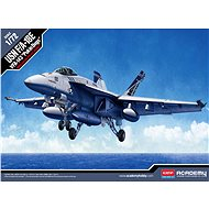 """Model Kit Aircraft 12547 - Usn F/A-18E Vfa-143 """"Pukin Dogs"""" - Model Airplane"""