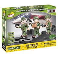 Cobi 3 figures with accessories American Air Division - Building Kit
